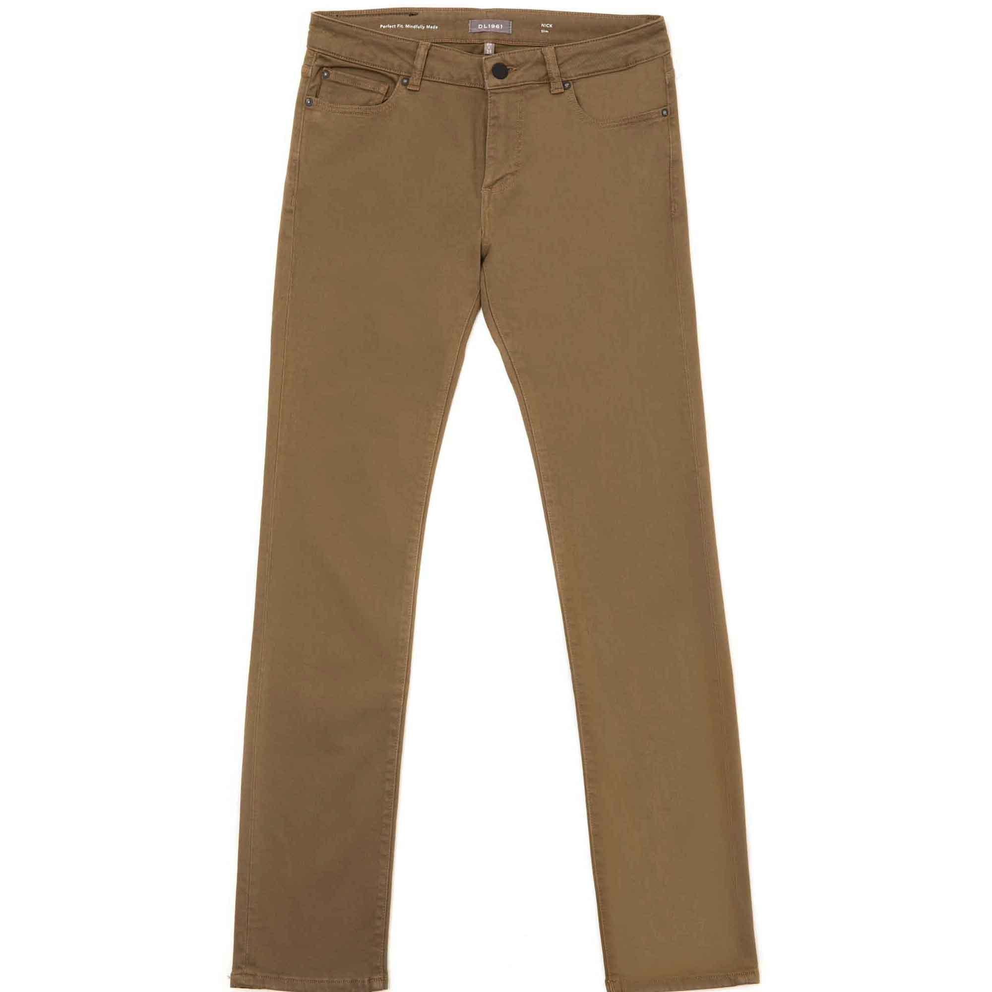 Jeans slim nick olive drab