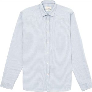Camisa clerkenwell rayas azul y blanco