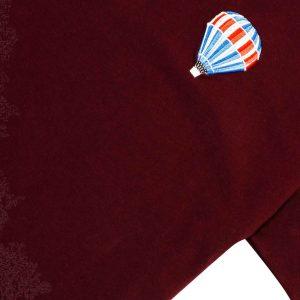 T-shirt vino globo aerostático