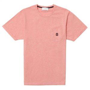 T-shirt rosa logo