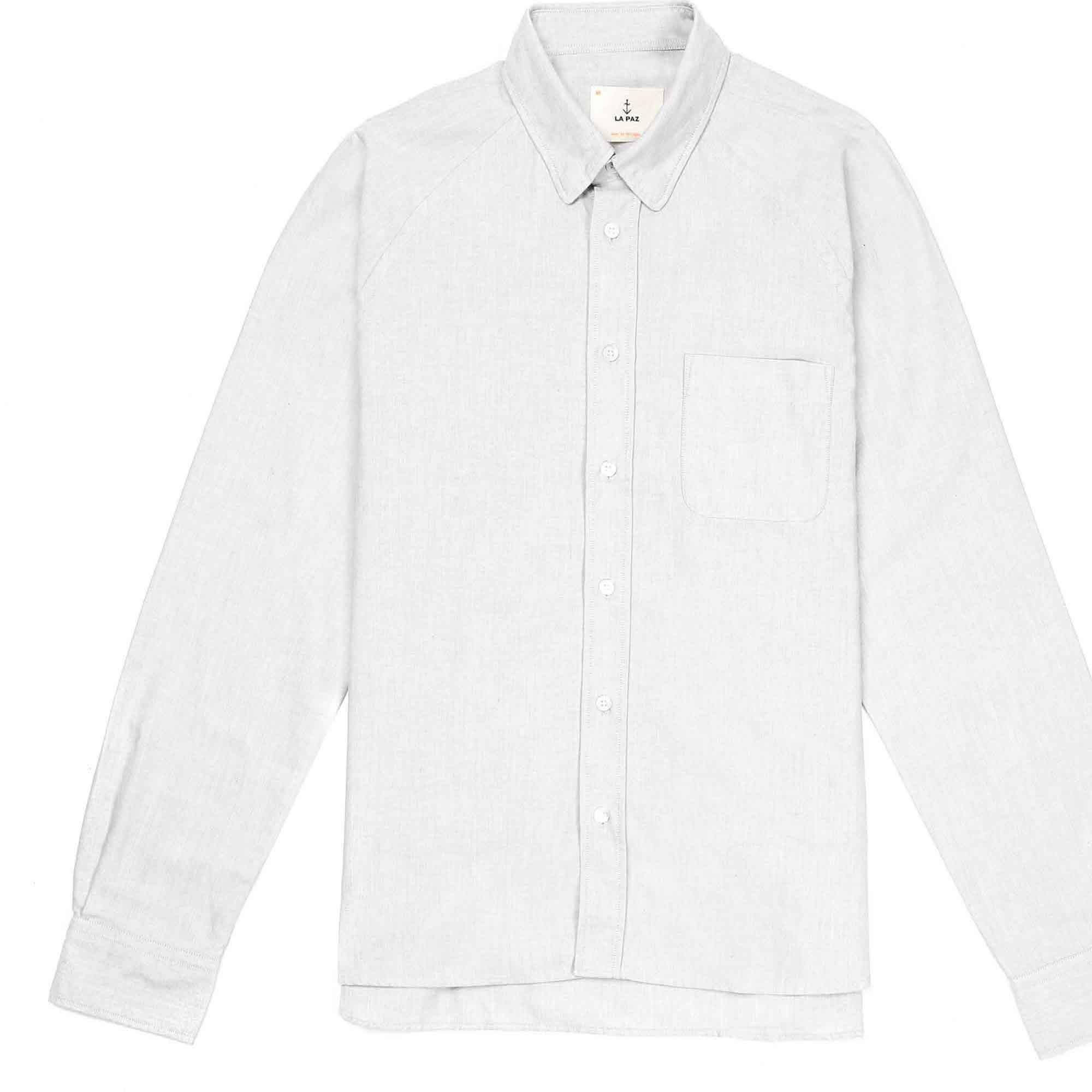 Camisa gris claro
