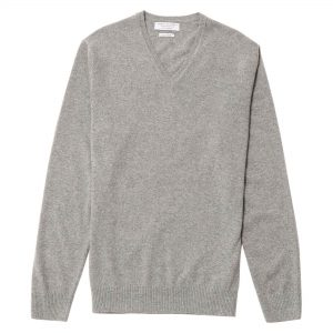 Cuello v. cashmere gris