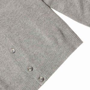 Cárdigan cashmere gris