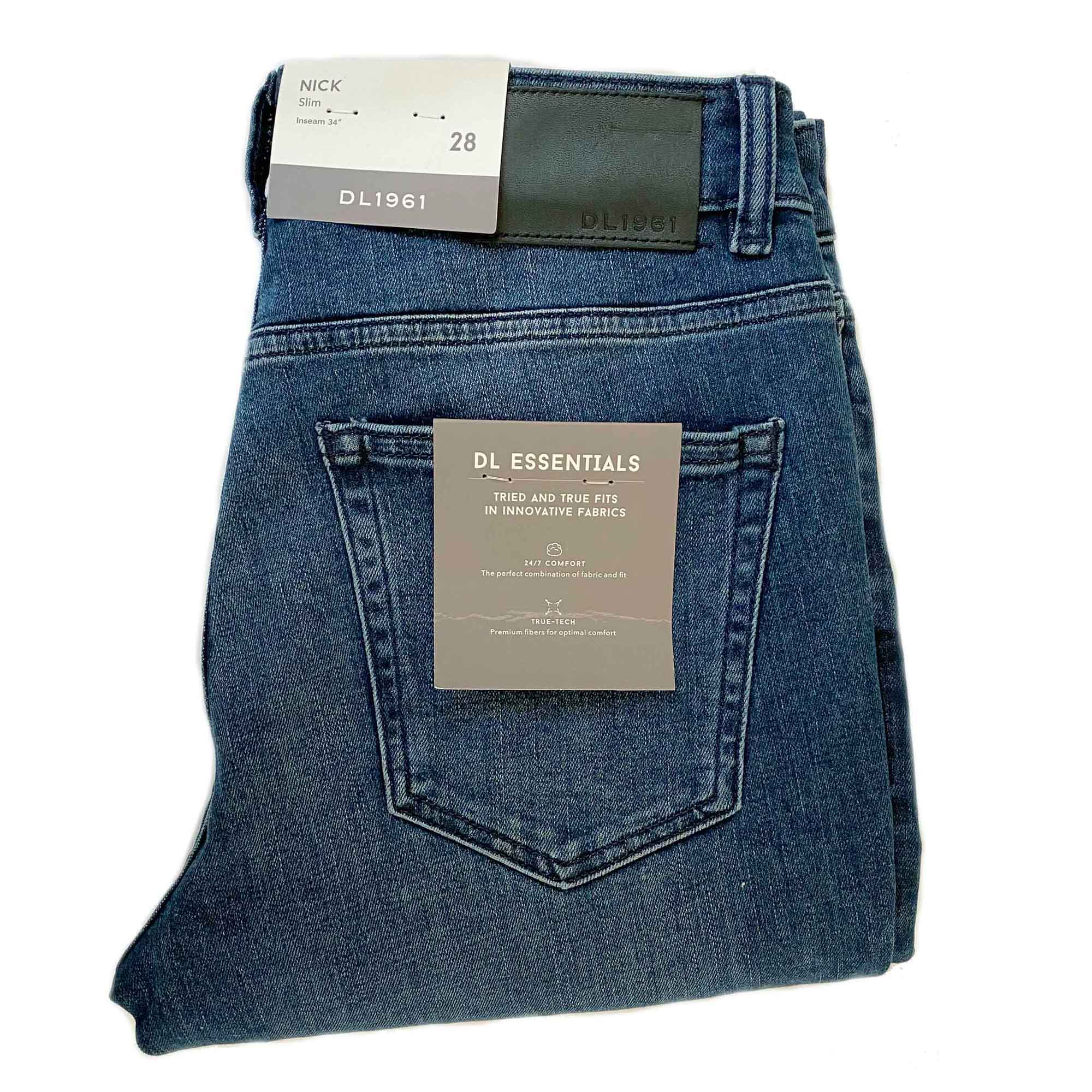 JEANS SLIM STRAIGHT BLUE EDGE